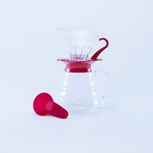 Hario V60 coffe brexwing kit glass